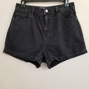 Pacsun Mom Short Cuffed Denim Shorts 29
